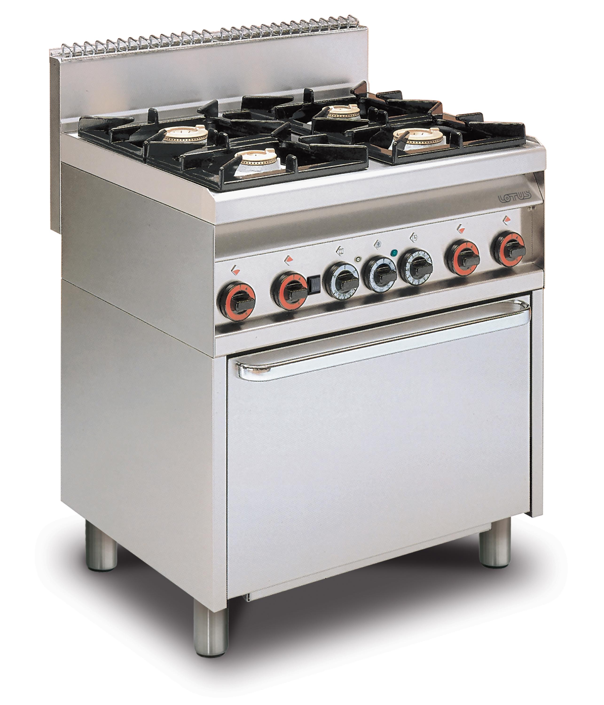 Lotus 65 magicprof cucine a gas con forno elettrico - Manutenzione cucina a gas ...