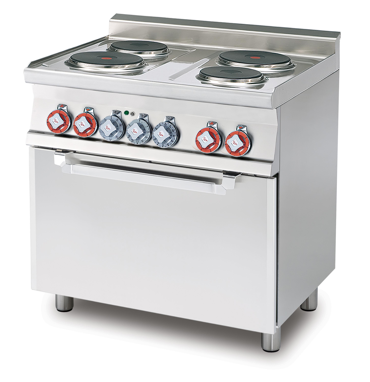 Lotus 60 magiclotus cucine elettriche - Cucina economica elettrica ...