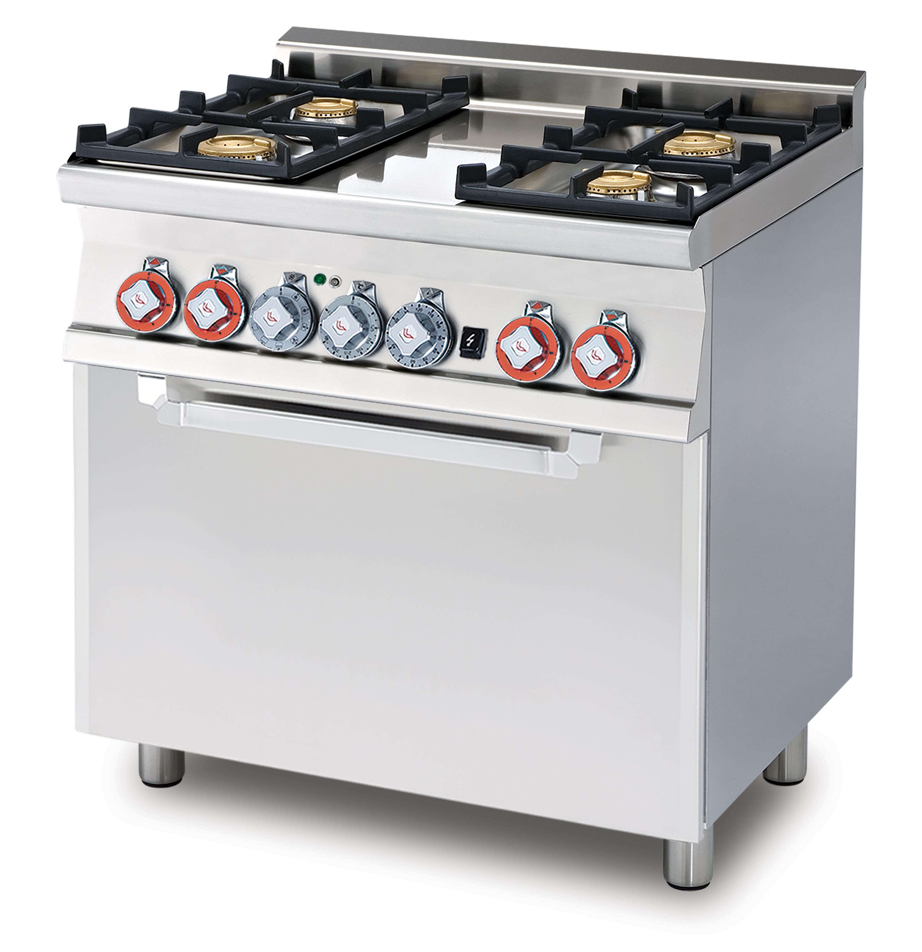 Lotus 60 magiclotus cucine a gas con forno elettrico - Manutenzione cucina a gas ...