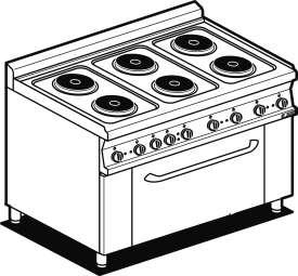 Piano cottura induzione e forno elettrico simple forno compatto realistico d con piano cottura - Piastre a induzione ikea ...