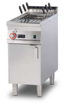 Gas pasta cooker 40 lts. - Tank cm. 30,7x50,9x32,7h. Automatic Water loading with level sensor - overflow device and floor draining (BASKETS EXCLUDED) (included 1 Head end filler strip mod.TPA-9)
