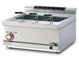 Pasta cooker threephase 25 lts. Tank cm. 51x31x22h. Drain-tap (BASKETS EXCLUDED) (included 1 Head end filler strip mod.TPA-7)