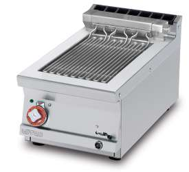 CONTACT Grill threephase - rotable stainless steel grill cm. 27x43  (included 1 Head end filler strip mod.TPA-7)