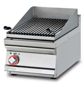 Grill threephase - Stainless steel grill cm. 38x52  (included 1 Head end filler strip mod.TPA-7)
