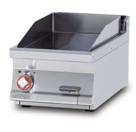 Electric Fry-top smooth griddle, plate cm.36x51 (included 1 Head end filler strip mod.TPA-7)