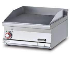 Electric Fry-top smooth griddle, plate cm.56x51 (included 1 Head end filler strip mod.TPA-7)