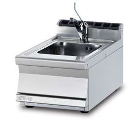 Sink unit - Lever type tap - Bowl cm. 30x35x15h (included 1 Head end filler strip mod.TPA-7)