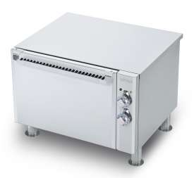 Stand with electric fan oven cm. 55x36x34h, temp: 50÷300°C, with 1 grid cm.53x32,5 GN1/1 (no induction top) - flanged feet
