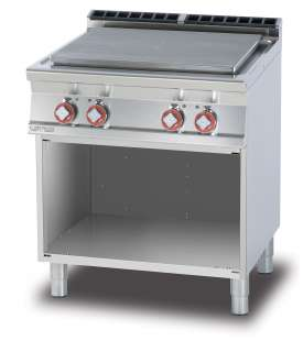 Solid top on open unit - Plate cm. 70x50 - 4 zones (included 1 Head end filler strip mod.TPA-7)