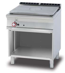 Solid top on open unit - Plate 77x57cm (included 1 Head end filler strip mod.TPA-7)