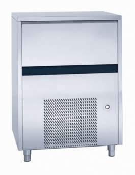 Ice maker - Solid cube 18gr - Air cooling. Electronic control system - production 60 kg in 24h - storage 40 kg.