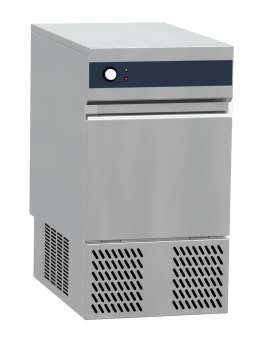Ice maker - Hollow cube 17 gr - Air cooling. Electronic control system -  production 20 Kg in 24h - storage 5 Kg.