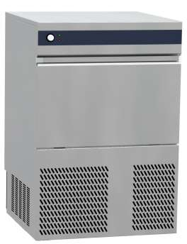 Ice maker - Hollow cube 17 gr - Air cooling. Electronic control system -  production 50 kg in 24h - storage 21 Kg.